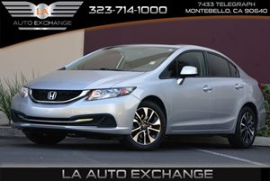 2013 Honda Civic Sdn EX Carfax 1-Owner  Alabaster Silver Metallic  We are not responsible for