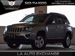 2015 Jeep Compass Sport Carfax 1-Owner  Tan -11999 16398 Per Month -ON APPROVED CREDIT-