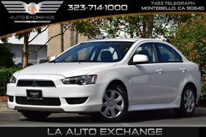 2014 Mitsubishi Lancer ES Carfax 1-Owner - No AccidentsDamage Reported  Wicked White Metallic
