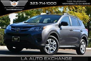 2013 Toyota RAV4 LE Carfax 1-Owner  Magnetic Gray Metallic  We are not responsible for typogra