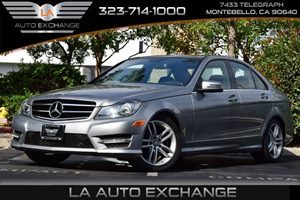 2014 MERCEDES C-Class Sport Sedan Carfax 1-Owner - No AccidentsDamage Reported 150 Amp Alternato