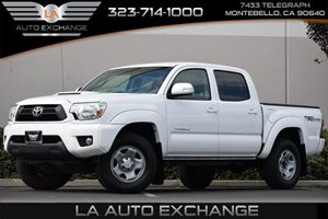 2015 Toyota Tacoma PreRunner Carfax 1-Owner 2 12V Dc Power Outlets 5 Person Seating Capacity 6