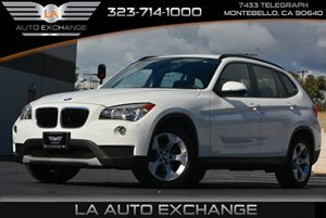 2014 BMW X1  Carfax 1-Owner 5 Person Seating Capacity Body-Colored Door Handles Body-Colored Re