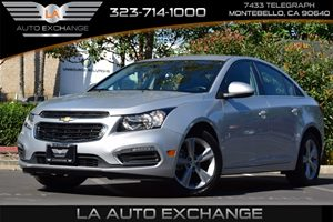 2015 Chevrolet Cruze LT Carfax Report Convenience  Adjustable Steering Wheel Convenience  Auto