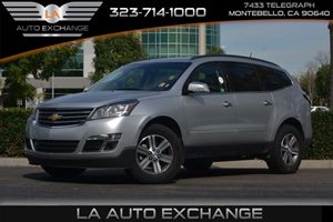2016 Chevrolet Traverse LT Carfax 1-Owner - No AccidentsDamage Reported  Champagne Silver Meta