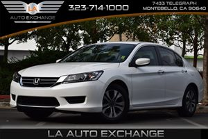 2015 Honda Accord Sedan LX Carfax 1-Owner Airbag Occupancy Sensor Convenience  Back-Up Camera