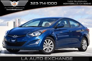 2014 Hyundai Elantra SE Carfax 1-Owner - No AccidentsDamage Reported 90 Amp Alternator Convenie