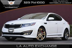 2013 Kia Optima SX wLimited Pkg Carfax Report - No AccidentsDamage Reported Air Conditioning