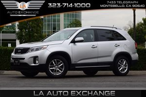 2015 Kia Sorento LX Carfax 1-Owner 110 Amp Alternator 3648 Axle Ratio Airbag Occupancy Sensor