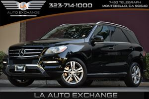 2014 MERCEDES M-Class SUV Carfax 1-Owner - No AccidentsDamage Reported 2 Seatback Storage Pocket