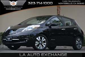 2013 Nissan LEAF SL Carfax 1-Owner - No AccidentsDamage Reported 3 FrontRear Assist Grips 0