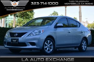 2014 Nissan Versa SV Carfax 1-Owner - No AccidentsDamage Reported Fuel Capacity  108 Gal Tank