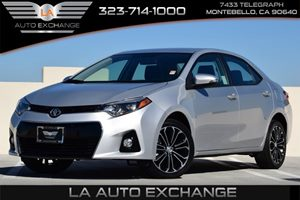 2015 Toyota Corolla S Carfax 1-Owner - No AccidentsDamage Reported 132 Gal Fuel Tank Abs And
