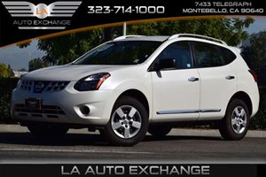 2015 Nissan Rogue Select S Carfax 1-Owner  Pearl White 18996 Per Month -ON APPROVED CREDIT-