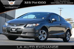 2013 Honda Civic Cpe LX Carfax 1-Owner Air Conditioning  AC Audio  Mp3 Player Body-Colored B