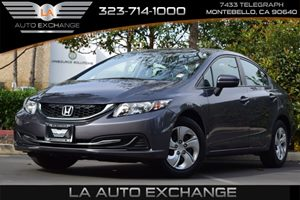 2014 Honda Civic Sedan LX Carfax 1-Owner - No AccidentsDamage Reported Convenience  Adjustable