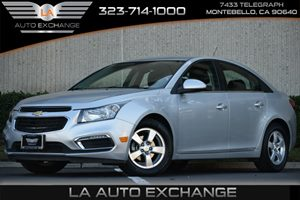2016 Chevrolet Cruze Limited LT Carfax 1-Owner 4 Cylinders Air Conditioning  AC Audio  AmFm