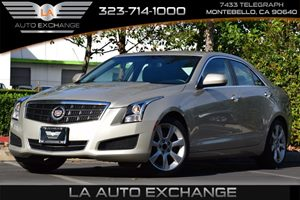 2013 Cadillac ATS  Carfax 1-Owner - No AccidentsDamage Reported  Summer Gold Metallic  Happy