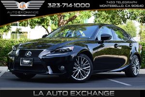 2014 Lexus IS 250  Carfax 1-Owner - No AccidentsDamage Reported  Black  We are not responsibl