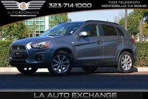 2014 Mitsubishi Outlander Sport SE Carfax 1-Owner - No AccidentsDamage Reported  Mercury Gray
