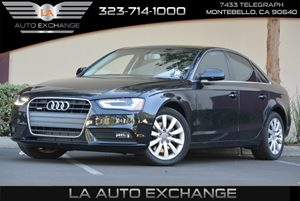 2013 Audi A4 20 T Carfax 1-Owner - No AccidentsDamage Reported 12V Pwr Outlet Alarm System WE