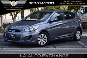2015 Hyundai Accent GS Carfax 1-Owner  Triathlon Gray Metallic  We are not responsible for typ