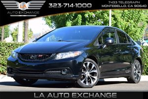 2013 Honda Civic Sdn Si Carfax Report - No AccidentsDamage Reported  Crystal Black Pearl 215