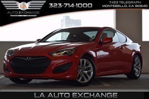 2013 Hyundai Genesis Coupe 20T Carfax 1-Owner  Tsukuba Red -16999 22894 Per Month -ON AP