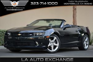 2015 Chevrolet Camaro SS Carfax 1-Owner - No AccidentsDamage Reported  Black  Happy Holiday S