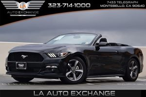 2016 Ford Mustang V6 Carfax 1-Owner 315 Axle Ratio Convenience  Back-Up Camera Convenience