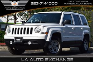 2015 Jeep Patriot Sport Carfax 1-Owner  Bright White Clearcoat  WeGre Thankful for You at LA