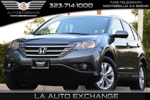 2013 Honda CR-V EX-L Carfax 1-Owner 12V Pwr Outlets -Inc Front Center Console Body-Colored Fol