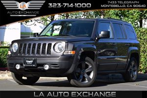2015 Jeep Patriot High Altitude Edition Carfax 1-Owner - No AccidentsDamage Reported  Gray  H