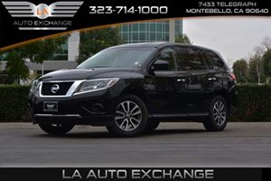 2014 Nissan Pathfinder S Carfax 1-Owner - No AccidentsDamage Reported  Super Black -17999