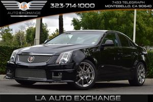 2011 Cadillac CTS-V Sedan  Carfax Report - No AccidentsDamage Reported Audio  Premium Sound Sys