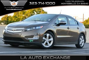 2014 Chevrolet Volt  Carfax 1-Owner - No AccidentsDamage Reported  Brownstone Metallic  We ar