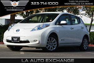 2013 Nissan LEAF S Carfax Report - No AccidentsDamage Reported 6040 Fold-Down Heated Rear Bench