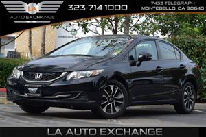 2013 Honda Civic Sdn EX Carfax 1-Owner - No AccidentsDamage Reported  Crystal Black Pearl  We