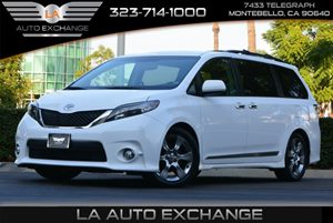 2013 Toyota Sienna SE Carfax 1-Owner Auto-Dimming Rearview Mirror WIntegrated Compass Color-Key