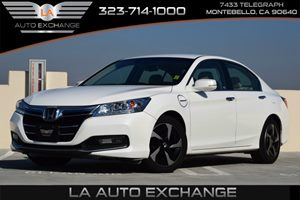 2014 Honda Accord Plug-in Hybrid  Carfax 1-Owner - No AccidentsDamage Reported  White Orchid P