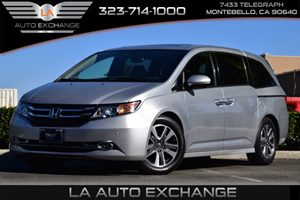 2014 Honda Odyssey Touring Carfax 1-Owner - No AccidentsDamage Reported  Alabaster Silver Meta