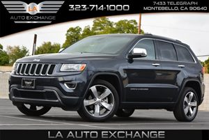 2014 Jeep Grand Cherokee Limited Carfax 1-Owner - No AccidentsDamage Reported Air Conditioning