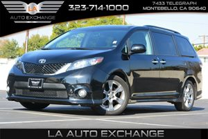 2015 Toyota Sienna LE AAS Carfax 1-Owner - No AccidentsDamage Reported  Attitude Black  We ar