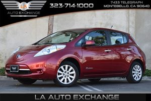 2013 Nissan LEAF S Carfax 1-Owner 4-Wheel Anti-Lock Brake System Abs Child Safety Rear Door Lo