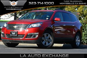 2013 Chevrolet Traverse LT Carfax 1-Owner - No AccidentsDamage Reported  Crystal Red Tintcoat