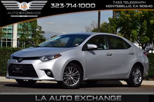2014 Toyota Corolla LE Carfax 1-Owner - No AccidentsDamage Reported 476 Axle Ratio 80 Amp Alte