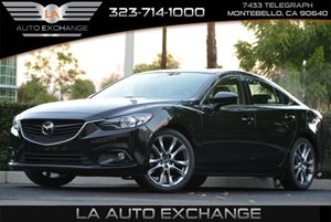 2014 Mazda Mazda6 i Grand Touring Carfax 1-Owner - No AccidentsDamage Reported  Jet Black Mica