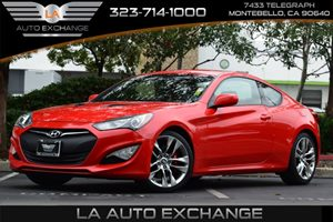 2013 Hyundai Genesis Coupe 20T R-Spec Carfax 1-Owner - No AccidentsDamage Reported 4-Wheel Anti