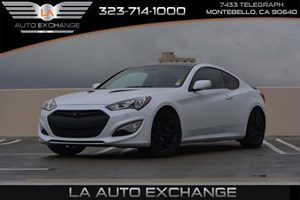 2014 Hyundai Genesis Coupe 20T Carfax Report - No AccidentsDamage Reported  Casablanca White