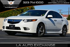 2013 Acura TSX Special Edition Carfax 1-Owner - No AccidentsDamage Reported  Bellanova White P